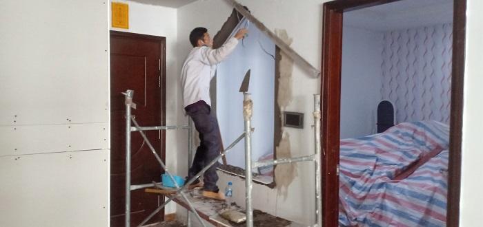 Sửa chữa cải tạo chung cư nhà chị Hà, tòa T2 12A06 Time City