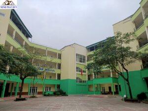 Cải tạo trường Tiểu học Chu Văn An