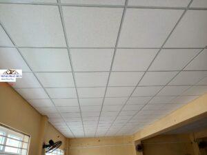 Cải tạo trần nhà bằng tấm thạch cao sợi khoáng